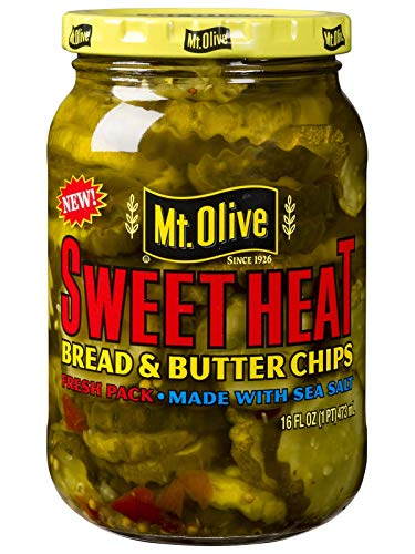 Mt Olive SweetHeat Bread & Butter Chips