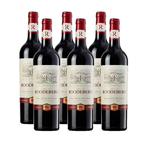 Roodeberg Rot – Der vollmundige, trockene Rotwein aus Südafrika (6x 0,75l)