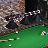"""Wellmet Billiard Light for Pool Table,59"""" Pool Table..."""