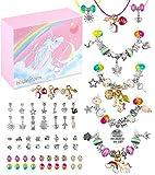 HiUnicorn Bracelets Making Kit Crafts Gifts for Teen Girls Age 8-12, Unicorn Charm Jewelry Making...