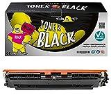 Yellow Yeti 130A CF350A Negro 1300 páginas Tóner Compatible para HP Color Laserjet Pro MFP M176n M177fw [3 años de garantía]