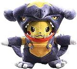 HNTOY Garchomp Pikachu Plush Toy 20Cm Pikachu Cosplay Garchomp Pikachu Soft Stuffed Dolls