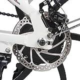 SAMEBIKE 20 Zoll 350 W 48 V 10 Ah Lithiumbatterie Faltbares Elektrofahrrad E-Bike - 6