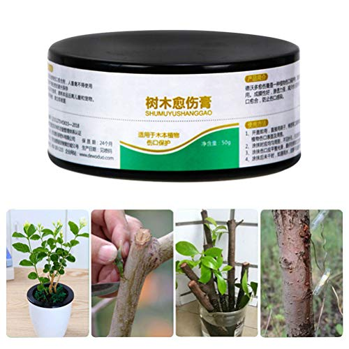 JAOCDOEN 1.76oz Plant Healing Sealant Bonsai Wound Healing Agent Tree Pruning Paste