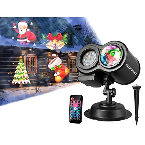 proyector de luces de navidad fabricante Glückluz