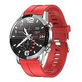 Padgene Smartwatch Deportivo, Reloj Inteligente Impermeable IP68, con Monitor de Sueño, Ritmo Cardíaco, Podómetro, Llamadas Bluetooth, Notificación de Mensaje para Android e iOS