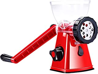 Multifunctional Meat Grinder Manual Household Enema Machine Hand-cranked Small Ground Vegetables stir-Fried Stainless Stee...