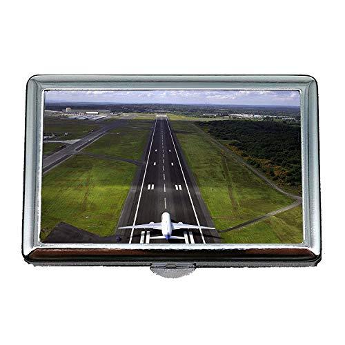 desktop per aeromobili, Custodia per portasigarette, fighter ace, porta biglietti da visita in acciaio inossidabile