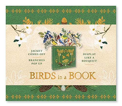 Birds in a Book (A Bouquet in a Book): Jacket Comes Off. Branches Pop Up. Display Like a Bouquet! (UpLifting Editions)