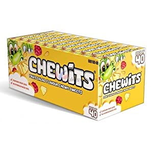 chewits original fruit salad (box of 40) Chewits Original Fruit Salad (Box of 40) 51O7z6X0LdL