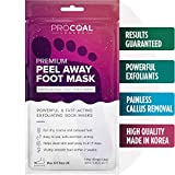 Foot Peel, Korean Foot Peeling Mask for Soft Baby Feet - Hard Skin