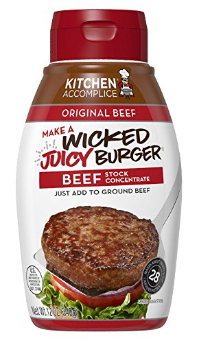 Kitchen Accomplice Wicked Juicy Burger, Beef Stock Concentrate, 12 Ounce