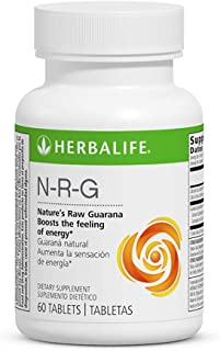 Herbal Energy Booster N-R-G Nature's Raw Guarana 60 Tablets