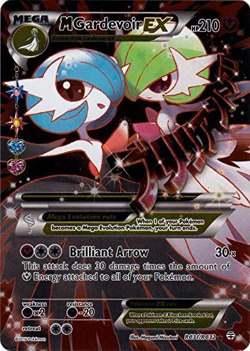 Pokemon - Mega-Gardevoir-EX (RC31) - Generations - Holo