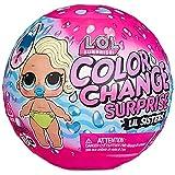 LOL Dolls Divertido Efecto de Cambio de Color y Accesorios de Moda, Muñecas Coleccionables para Niños a Partir de 3 Años