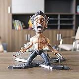 Action Figure X-Men Wolverine Hero Series Personaggio Animato Modello Decorazione Statua 17CM