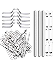 Nose Bridge Strips for Mask, Aluminum Metal Nose Strip, Adjustable Nose Clips Wire for DIY Face Mask Making Accessories for Sewing Crafts