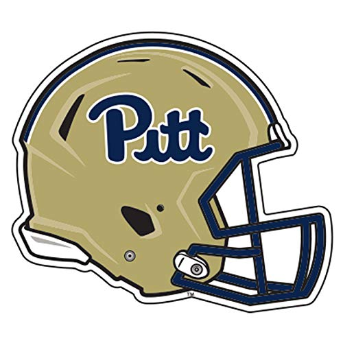 Craftique Pittsburgh (PA) Decal (REF Pitt Football Helmet Decal (4''), 4 in)