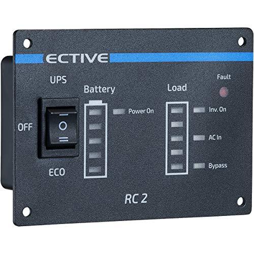 ECTIVE RC2 Fernbedienung mit Ladestandsanzeige für neueste Generation ECTIVE TSI Wechselrichter