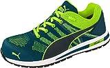 PUMA Safety Elevate Knit Low Chaussure de sécurité S1P ESD HRO SRC Embout en Fibre de Verre et Semelle antidérapant sans métal Hommes