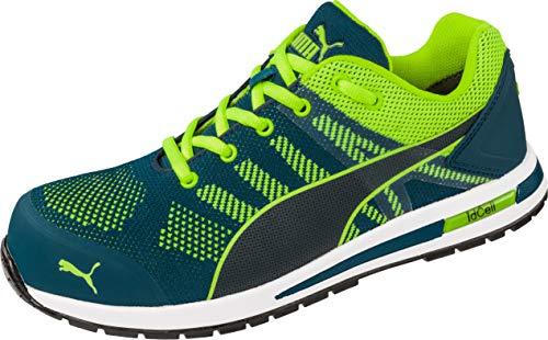 PUMA Safety Unisex PU643170-44 Leichtathletik-Schuh, blau-grün, 45.5 EU