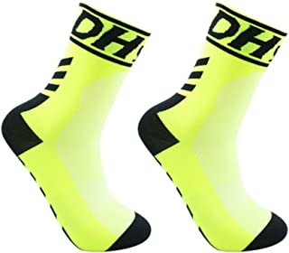 Gymforward Compression Sports Socks Full Cushion Athletic Socks for Running/Basketball/Football/Cycling/Jogging/Hiking
