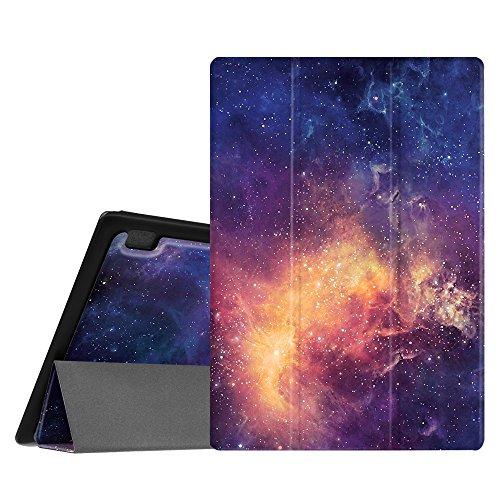 Fintie Hülle Hülle für Lenovo Tab 3 10 Plus/Tab 3 10 Business/Tab 2 A10 - Folio Kunstleder Schutzhülle Tasche Etui für Lenovo Tab 10 / Tab 2 A10-30 10,1 Zoll Tablet, Die Galaxie