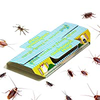 Scope of application: Ideal for capturing annoying home insects like cockroaches, spiders, ants and other pest. Strong and enduring: BASF glue coating ensure the long lasting and strong adhesion, once caught, never escape. Eco-friendly: Made of non-t...
