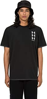 Palm Angels Under Armour Perforated Logo-Print Celliant T-Shirt Black