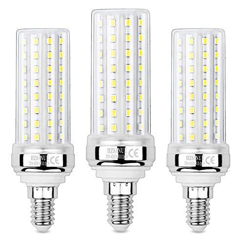Hzsanue Lampadine LED 20W, 150W Lampadine a Incandescenza Equivalenti, 2000Lm, 4000K Luce Bianca Naturale, E14 Vite Piccola Edison, Confezione da 3