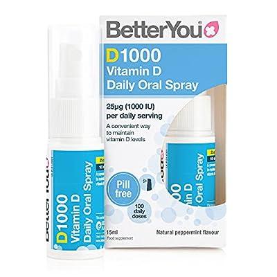 Better You Dlux 1000 Vitamin D Spray 15ml