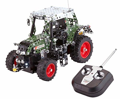 RC Auto kaufen Traktor Bild 4: RC Metallbaukasten, RC FENDT 313 VARIO, RC Traktor, ferngesteuert, 27 MHZ, Maßstab 1:24, 574 Teile, Tronico, Baukasten inklusive Werkzeug*