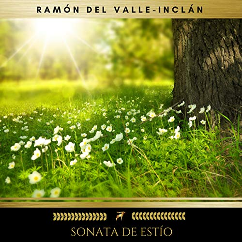 Sonata de estío audiobook cover art