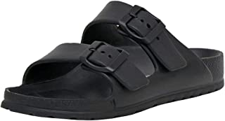 CUSHIONAIRE Women's Elane EVA Comfort Footbed Sandal with +Comfort