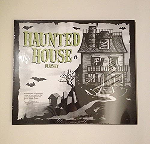 2015 SDCC EXCLUSIVE SUPER 7 HAUNTED HOUSE PLAYSET by super7