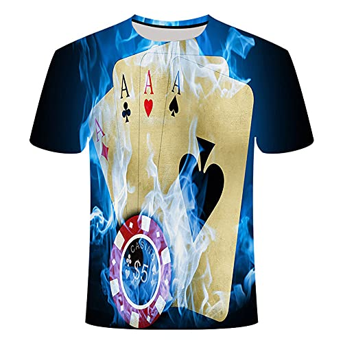 3D T-Shirt Men's Casual and Fun Beer Print Shirt Summer Style Party top Couple Elastic Short Sleeve