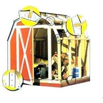 Quick Framer Universal Storage Shed Framing Kit - Gambrel Roof