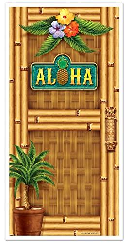 """Beistle Aloha Door Cover, 30"""" x 5"""