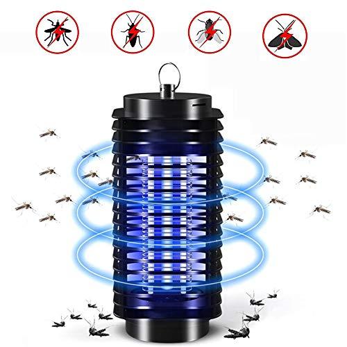 Konety Elektrischer Insektenvernichter, Schutz vor Elektrischem Schlag Tragbare UV Moskito Killer für Mücken,Fliegen,Motten,Intelligente Elektrische Mückenfalle Fliegenfalle für Küch,Schlafzimmer