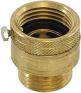 EZ-FLO 20199 Hose Bibb Anti-Siphon Vacuum Breaker, Brass