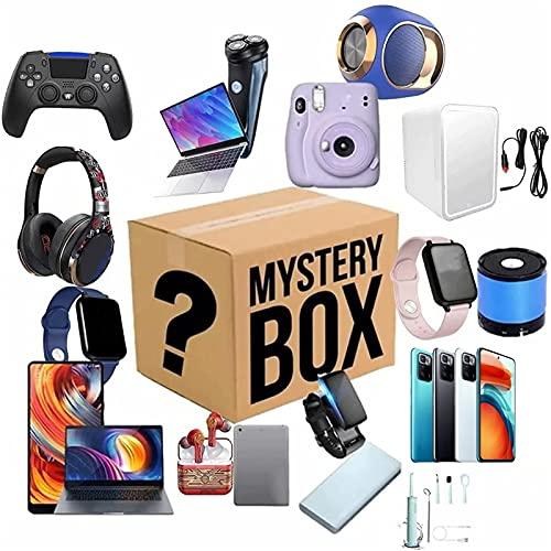 Mystery Box, Lucky Mysterious Box Electrónica Digital, Caja Sorpresa De Cumpleaños, Existe La Posibilidad De Abrir: Relojes Inteligentes, Teléfono Celular, Gamepads, Cámaras Digitales Todo Es Posible