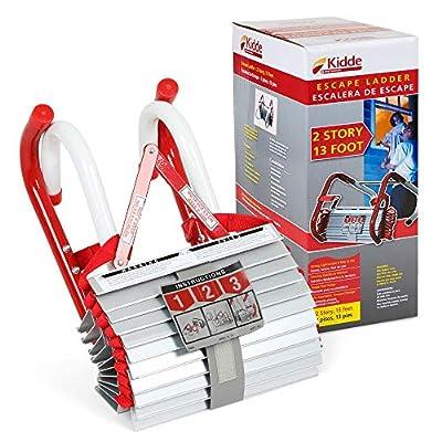 Kidd Fire Escape Ladder with Anti-Slip Rungs