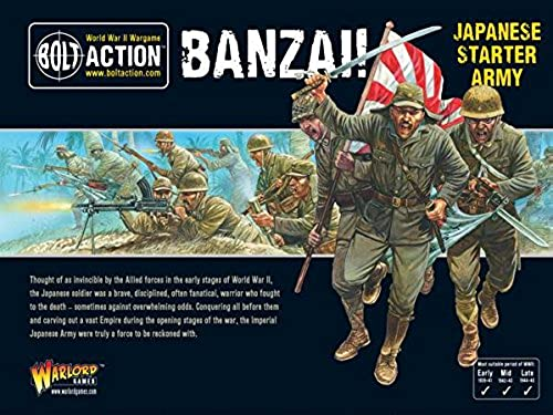 Bolt Action Banzai  Japanese Army Starter Army - Warlord Games
