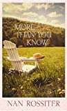 More Than You Know - Nan Rossiter