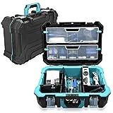 Navaris caja de herramientas de plástico - Organizador de...
