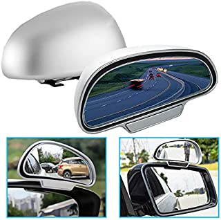SANON Auto toten Winkel Spiegel 3R Perspektive Multifunktions-R/ückspiegel Zusatzspiegel 2er Pack