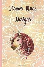 Horse Mane Designs: Design Template Journal & notebook