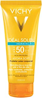 Idéal Soleil Hydrasoft Fps 50 200ml, Vichy, Transparente