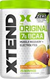 XTEND Natural Zero BCAA Powder Orange Passionfruit | Free of Artificial Sweeteners, Flavors, and Chemical Dyes | Post Workout Drink with Amino Acids | 7g BCAAs for Men & Women | 25 Servings, 13 oz