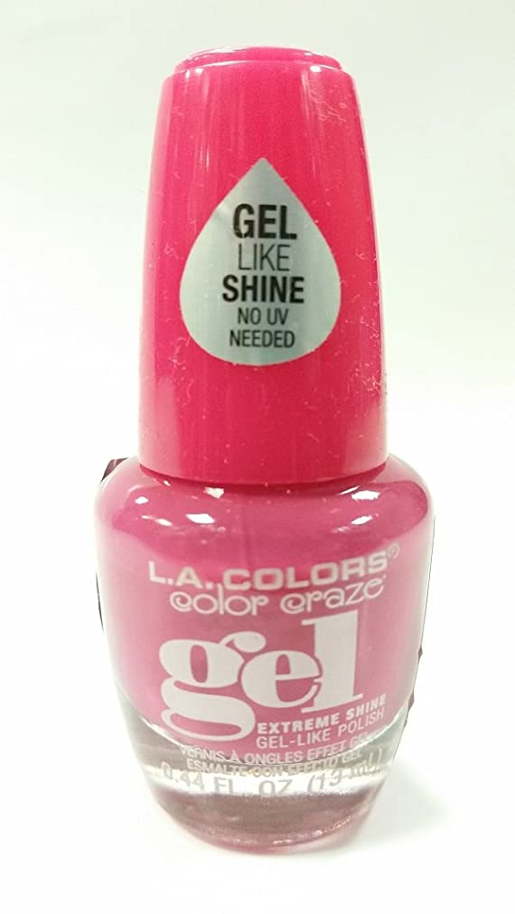 める話をする失態LA COLORS Color Craze Gel Polish Socialite (並行輸入品)